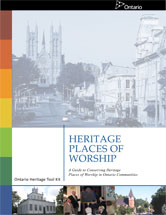 Cover image of the Heritage Places of Worship publication
