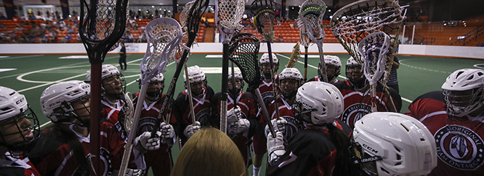 Indigenous Lacrosse Team