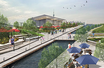 Concept Image of the Canal District