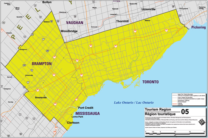 Greater Toronto Area Tourism Region